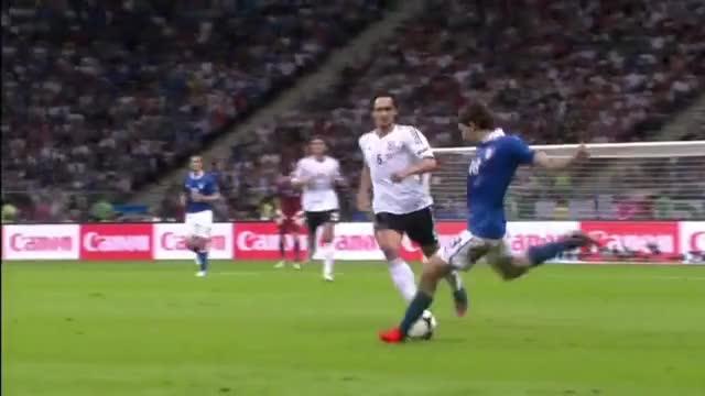 Watch and share Balotelli Vs Germany Euro 2012 GIFs on Gfycat