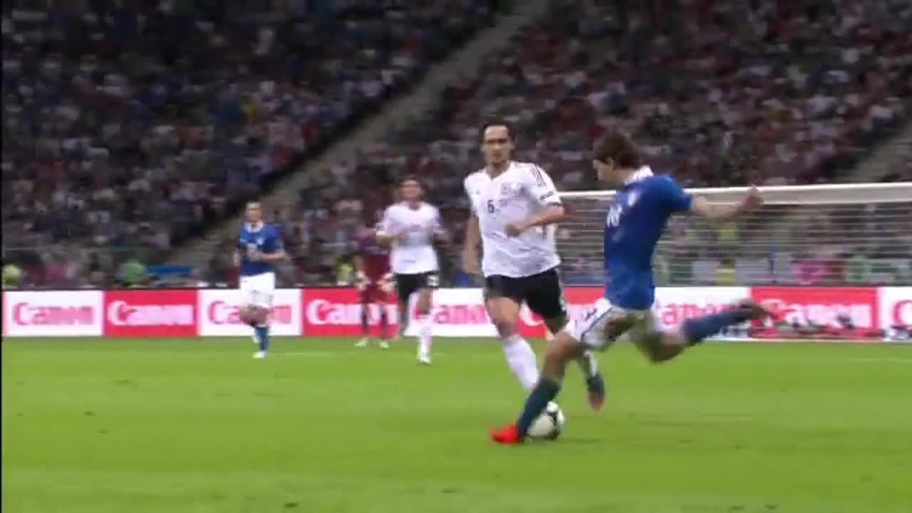 Balotelli vs Germany Euro 2012 GIFs