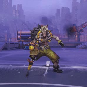 Watch and share Junkrat GIFs on Gfycat