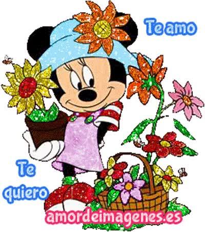 Watch and share Imágenes En Movimiento De Disney Minnie GIFs on Gfycat