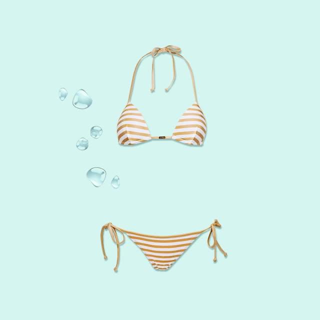 Watch and share Sara Cristina Swimwear Gold Stripes GIFs on Gfycat