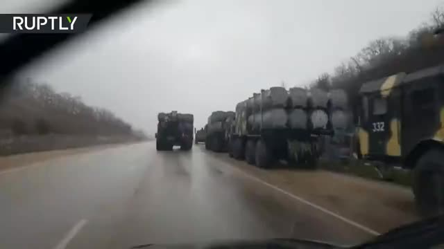Watch Russian 'Bal' coastal defense systems relocated near Kerch after standoff with Ukraine (EXCLUSIVE) GIF on Gfycat. Discover more Crimea, NATO, Putin, Russia, fsb, poroshenko, rt, ruptly, sennight, ukraine GIFs on Gfycat