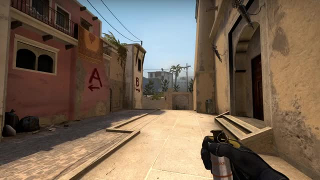 Watch and share Counter Strike GIFs and Smoke Lineup GIFs by verticalfel on Gfycat