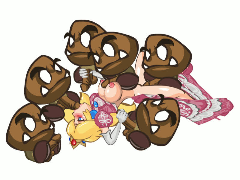 A taste of the Goomba power (PlayShapes)