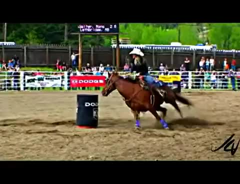 Watch and share Barrel Racing GIFs and Cowgirl GIFs on Gfycat