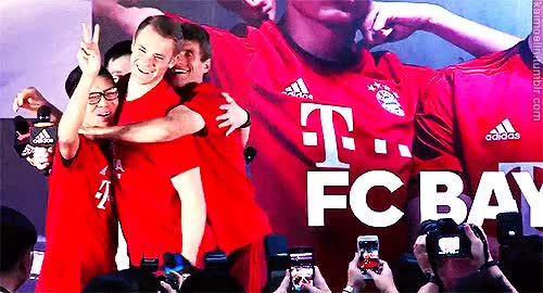 Watch the germans and co. GIF on Gfycat. Discover more 500px, bayern, china tour 2015, fc bayern, fcbmedit, flash gif, longer version, manuel neuer, my gifs, neuller, remade, thomas müller GIFs on Gfycat