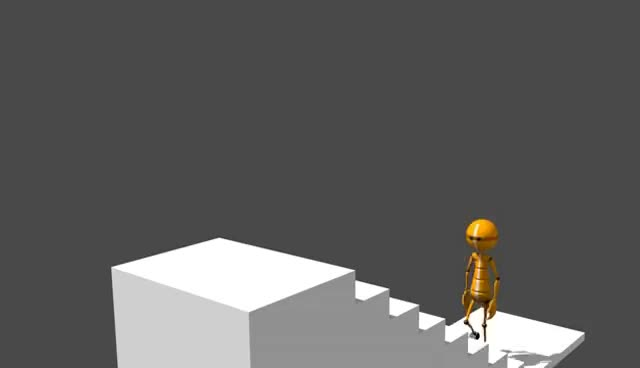 Watch Test animación 3D subir escaleras GIF on Gfycat. Discover more related GIFs on Gfycat
