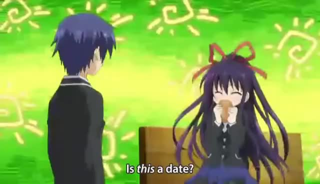 Watch and share Date A Live Anime GIFs on Gfycat