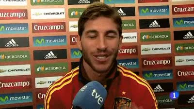Watch and share Sergio Ramos GIFs and Air Kiss GIFs on Gfycat