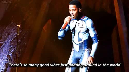 Watch spaceman GIF on Gfycat. Discover more concert, indicud, inspirational, kid cudi, man on the moon, music, scott mescudi, unfuckwittable GIFs on Gfycat