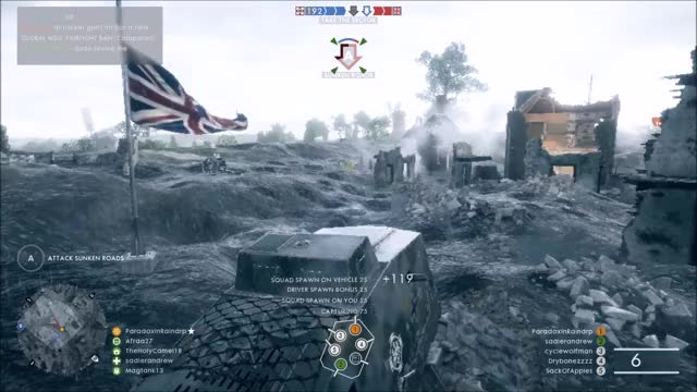 Watch and share Battlefield One - KIA By Friendly Zeppelin GIFs on Gfycat
