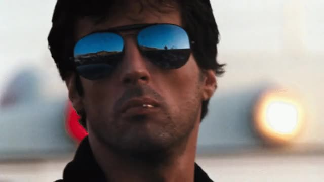 Watch and share Sylvester Stallone GIFs and Action Movies GIFs by Media Life Crisis on Gfycat