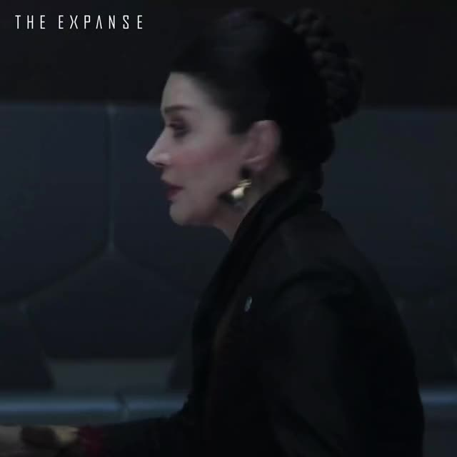 Watch and share Is He Our Role Model, Chrisjen Avasarala - The Expanse GIFs by Shohreh Aghdashloo on Gfycat