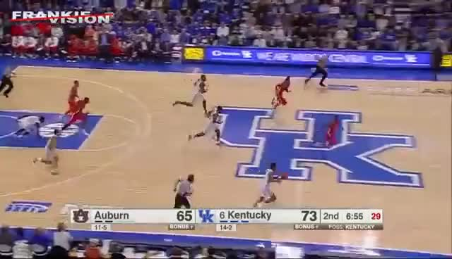 Watch Malik Monk  (Kentucky) Full Highlights vs Auburn // 1.14.17 // 24 Pts, 6 Ast GIF on Gfycat. Discover more related GIFs on Gfycat