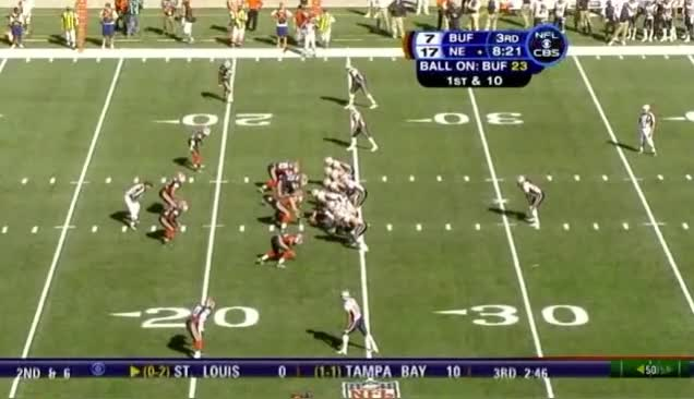 Watch and share 7 Maroney 15yd Rush GIFs on Gfycat