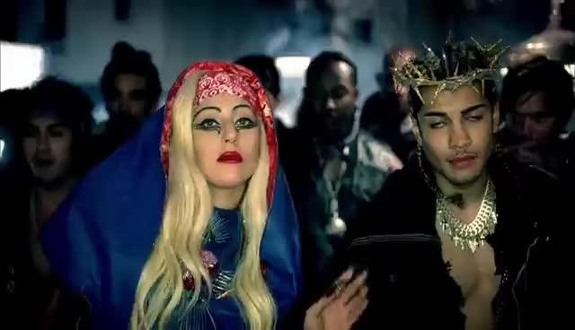 lady gaga, stefani germanotta, Lady Gaga - Judas GIFs