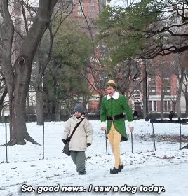 Watch and share Elf Snow GIFs on Gfycat