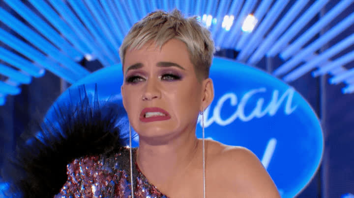 american idol, awkward, cringe, katy perry, uncomfortable, yikes, Katy Perry Awkward GIFs