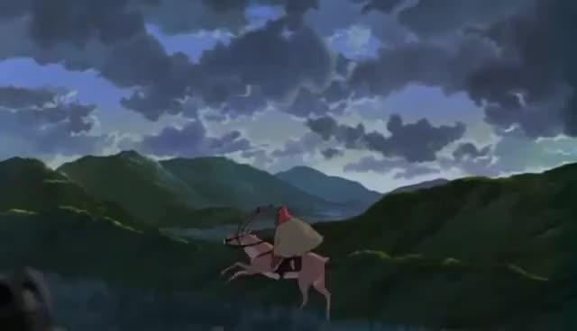 Watch and share Yakul (Princess Mononoke) GIFs on Gfycat