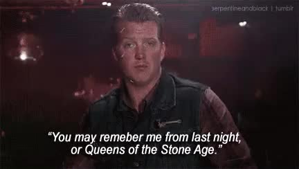 Watch and share Josh Homme Quote GIFs on Gfycat