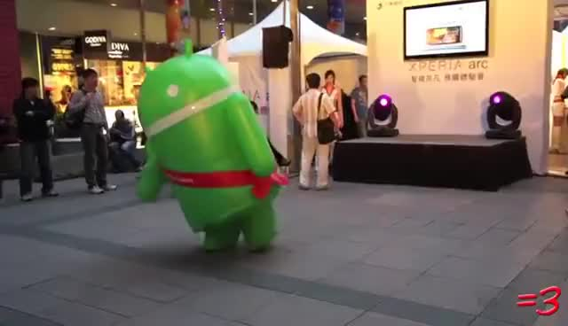 Watch Dance, Android, DANCE! GIF on Gfycat. Discover more android, dance, lol, mascot GIFs on Gfycat