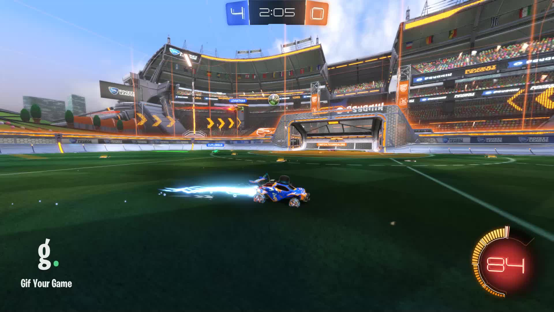 Duck Dodgers, Gif Your Game, GifYourGame, Goal, Rocket League, RocketLeague, Goal 5: Duck Dodgers GIFs