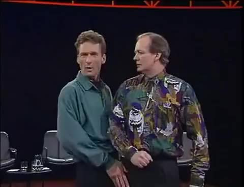 Watch and share Greg Proops GIFs and Ryan Stiles GIFs on Gfycat