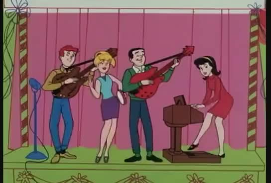 Watch The Archies - Sugar, Sugar (Original 1969 Music Video) GIF on Gfycat. Discover more related GIFs on Gfycat