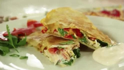 Watch and share Chicken Quesadilla GIFs on Gfycat