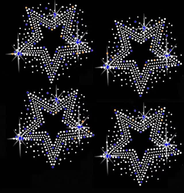 Звезды и стразы картинки