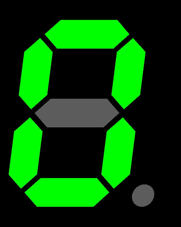 Watch and share Seven Segment Display-animated GIFs on Gfycat
