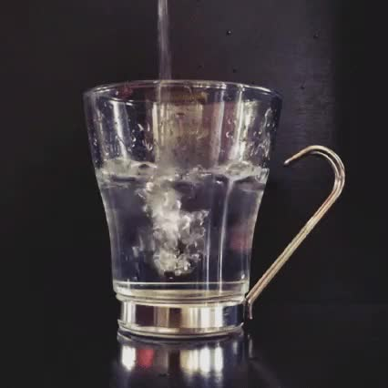 Watch and share Pouring Water Into Glass [OC] : Cinemagraphs GIFs on Gfycat
