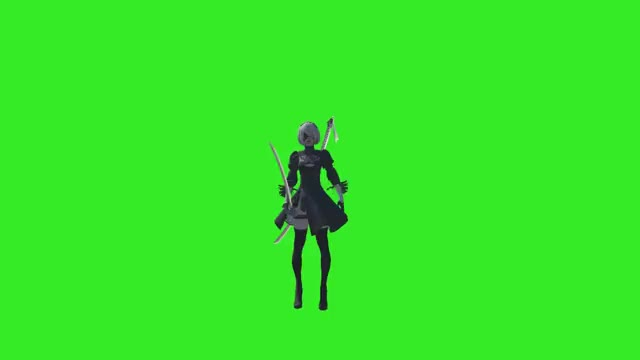Watch and share Default Dance GIFs and Nier Automata GIFs by ciaran on Gfycat