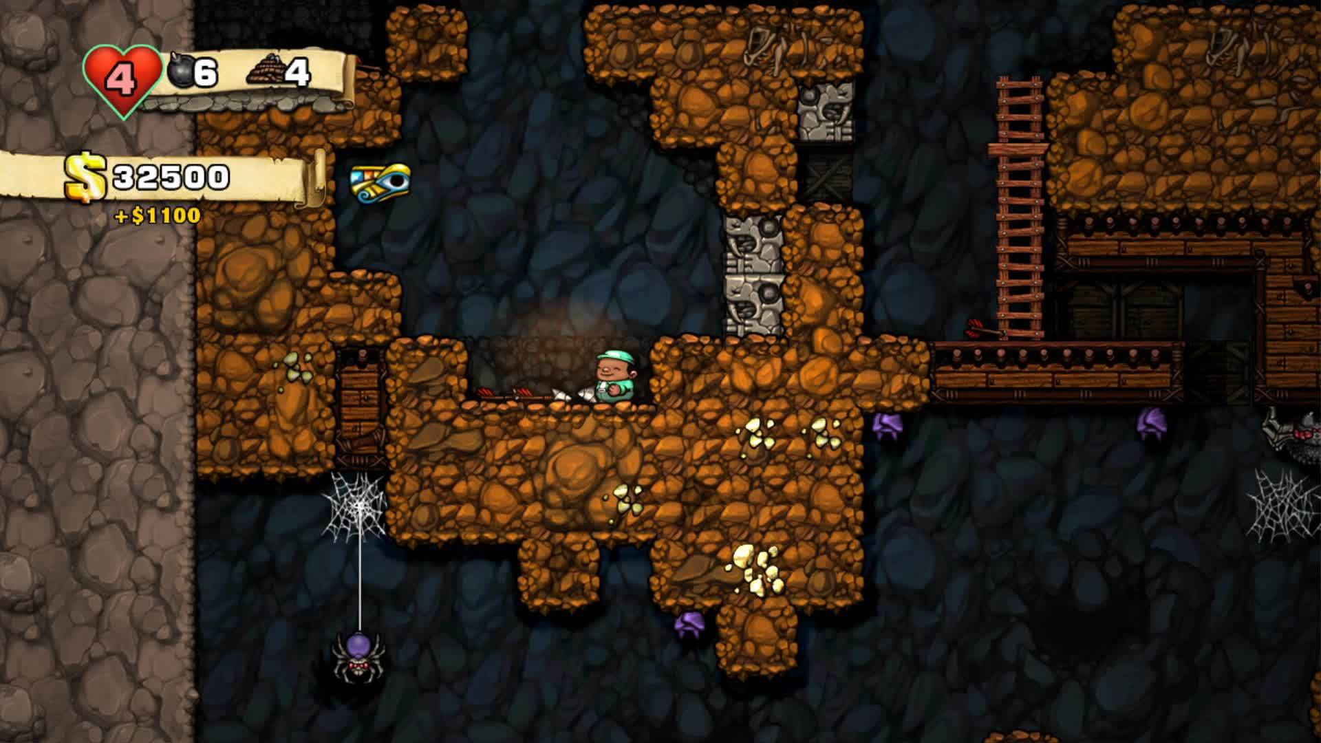 Death, Games, spelunky, This arrow has it in for me GIFs