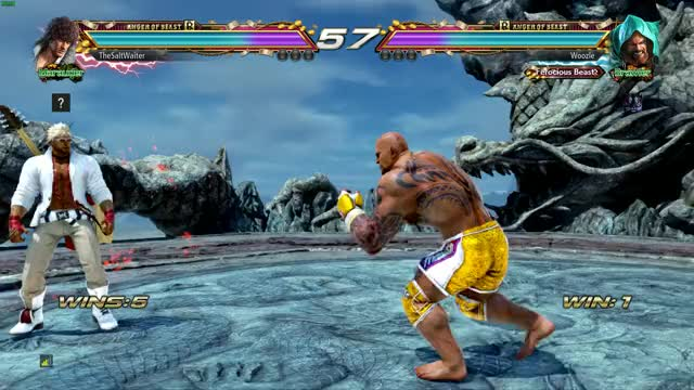 Watch and share Tekken GIFs by Woozle on Gfycat