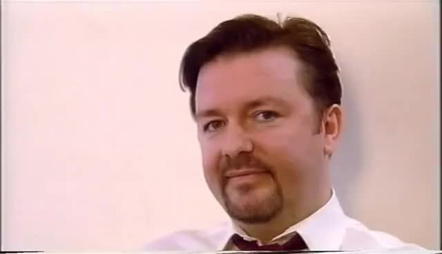 Watch and share David Brent Nod GIFs on Gfycat