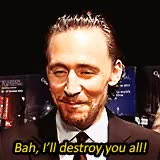 Watch and share Tom Hiddleston GIFs and Cantbreathe GIFs on Gfycat