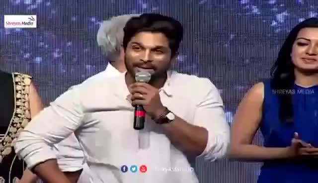 "Watch and share Allu Arjun ""Cheppanu Brother"" To Pawan Kalyan Fans GIFs on Gfycat"
