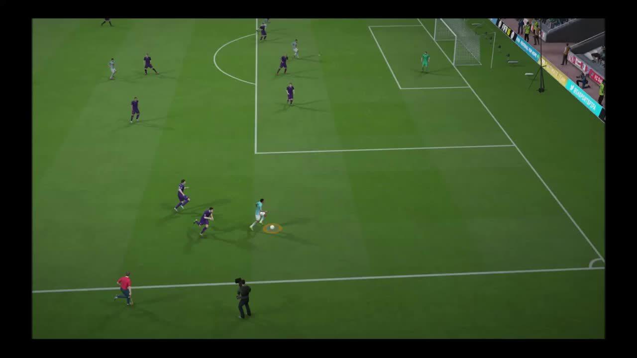 fifa, three defenders GIFs