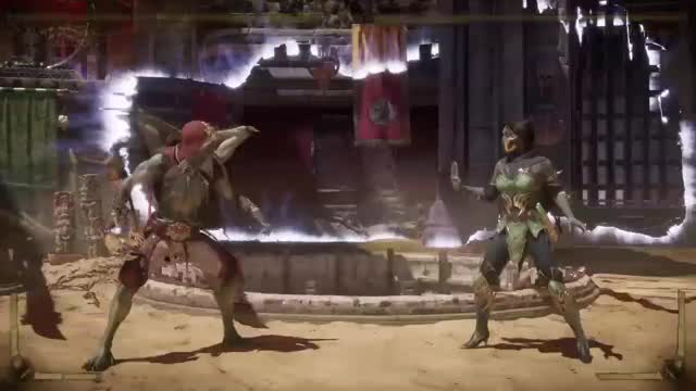 Watch and share Mortal Kombat 11 GIFs and Playstation 4 GIFs by Kraken9x2 on Gfycat