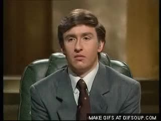 Watch and share Alan Partridge In A Pear Tree GIFs on Gfycat