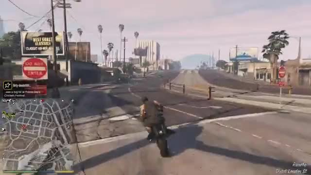 Watch Skydive Carpark Stunt!  GTAV! GIF on Gfycat. Discover more gta, gtaonline, gtav GIFs on Gfycat