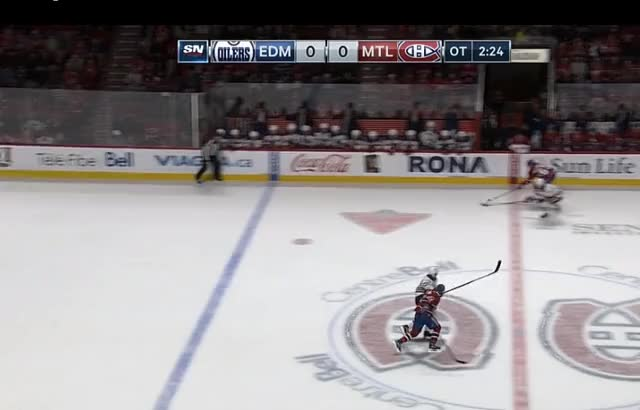 Watch and share Draisaitl Defence GIFs by cultofhockey on Gfycat