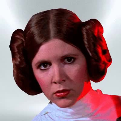 Watch this star wars GIF on Gfycat. Discover more carrie fisher, jedi, may the force be with you, sith, star wars GIFs on Gfycat