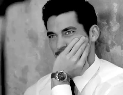 Watch and share Black And White GIFs and David Gandy GIFs on Gfycat