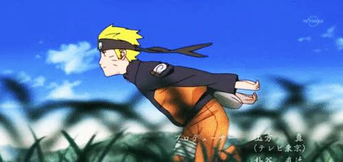 Naruto, Naruto Running GIFs