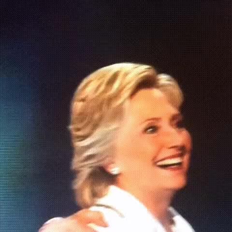 Watch and share Hillary DNC Seizure GIFs on Gfycat