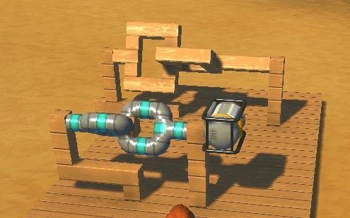 scrapmechanic, pipe cardan joint test GIFs