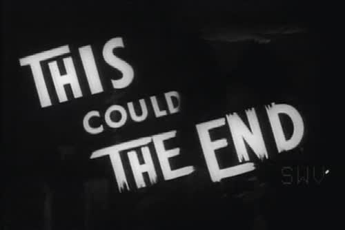 Screen Caps The End