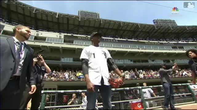 Watch and share Robert's Ceremonial First Pitch GIFs on Gfycat